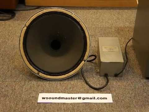 Rare Classic Tannoy Monitor Silver Black Early 12 Quot Speaker