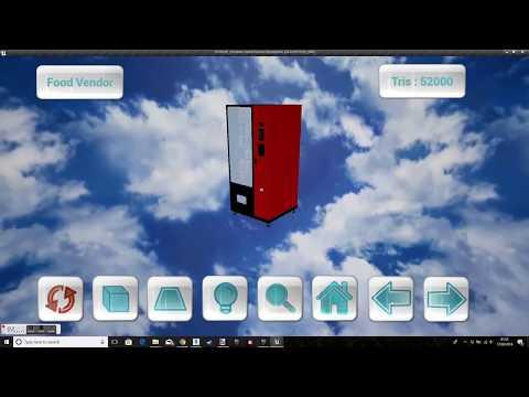 Unreal engine-3D Viewer V3
