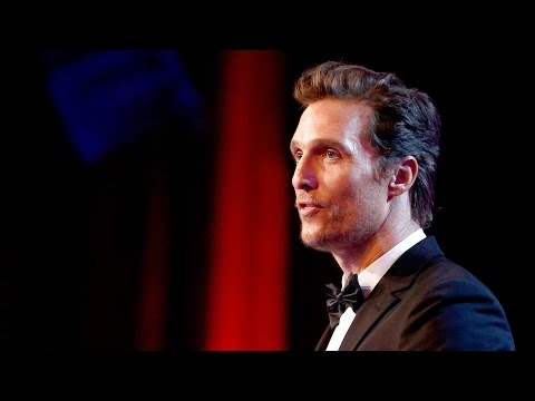 Matthew McConaughey American Cinematheque Award