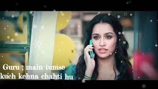 Ek Villain Dialogue Whatsapp Status   Aisha Muje Naukri Mil Gai Dialogue   Shraddha  Kapoor  Sha