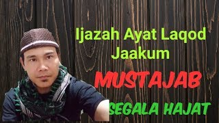 IJAZAH LAQOD JAAKUM, Surat ATTAUBAH Ayat 128-129