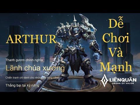 ARTHUR lãnh chúa xương - tướng rẻ cực khỏe