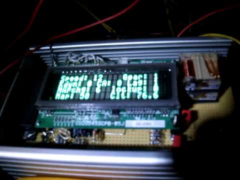 First test of DIY transmission controller