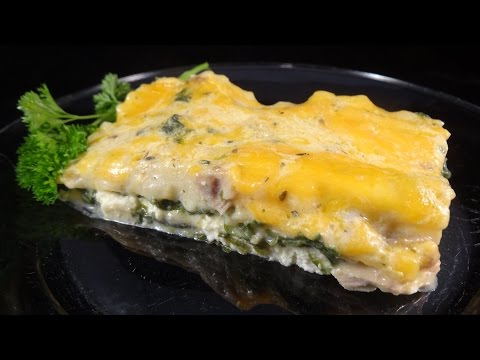 Chicken Florentine Lasagna -with yoyomax12