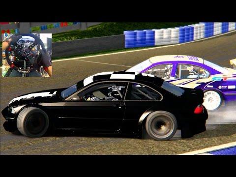 Assetto Corsa GoPro Online Formula Drift Lobby! Chris Forsberg 370z | SLAPTrain