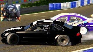 Assetto Corsa GoPro Online Formula Drift Lobby! Chris Forsberg 370z   SLAPTrain