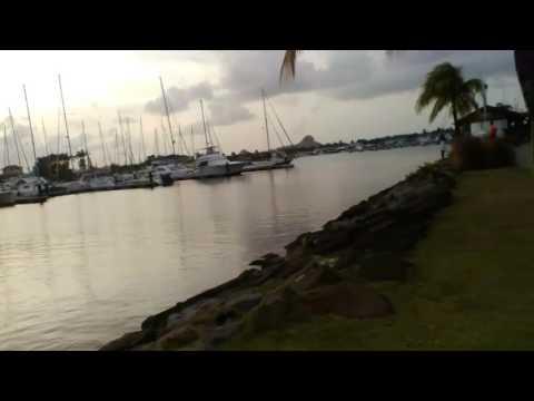St. Lucia land marks :Rodney Bay  Marina