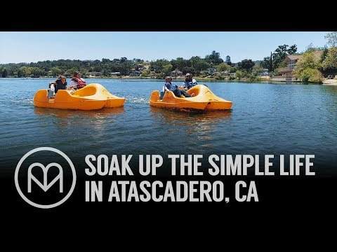 Soak up the simple life in Atascadero, CA