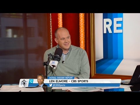 CBS College Basketball Analyst Len Elmore Talks NCAA Tournament Sweet 16 Match Ups - 3/23/17