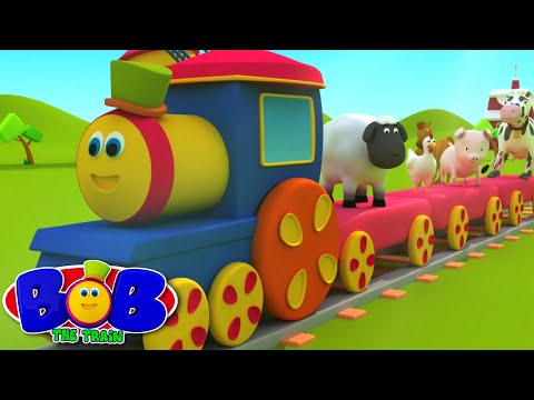 Bob The Train | Went To The Farm | Old MacDonald | Animal Sound Song by Bob The Train