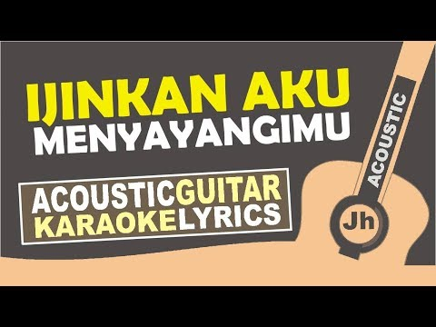 Iwan Fals - Ijinkan Aku Menyayangimu - Female Key  (Karaoke Acoustic)
