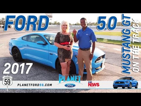 Planet Ford Humble >> 2017 Ford Mustang GT Race Track Test Drive Grabber Blue ...