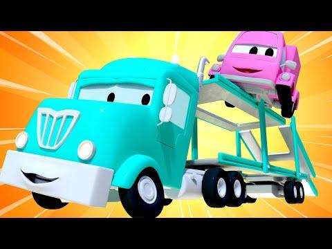 Xe lửa Troy - Xe tải vận chuyển xe hơi Charlotte đưa bạn bè tới bệnh viện ! - Thành phố xe 🚉
