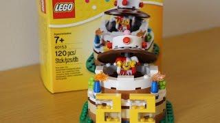 LEGO 40153: Birthday Table Decoration/Украшения для стола на День Рождения