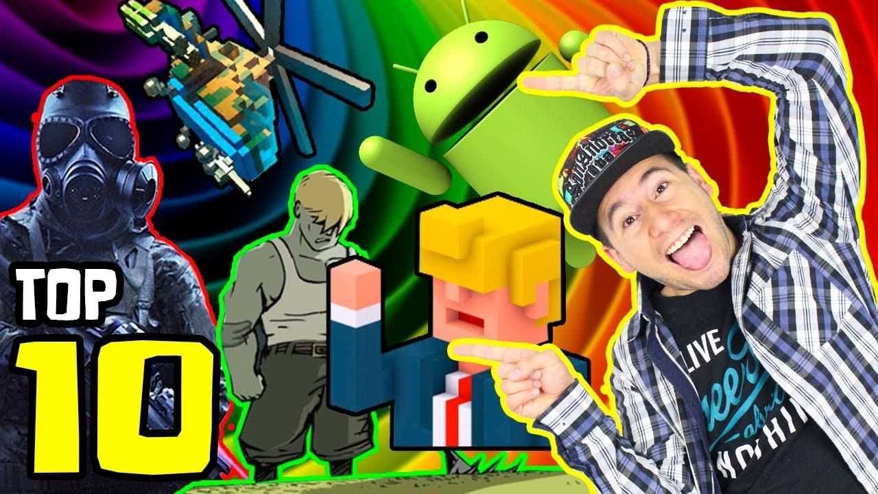 Top 10 Mejores Juegos Para Android 2019 Youtube
