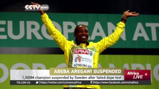 1,500m champion Abeba Aregawi suspended by Sweden after failed dope test