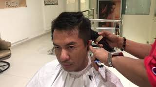 Mens Cuts with cool Cordless Clippers