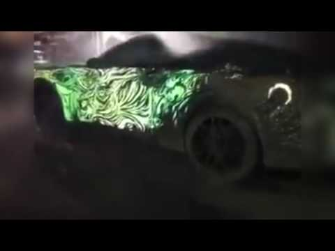 ★★ MUST WATCH ★★ Ford Mustang Water Glow at Night
