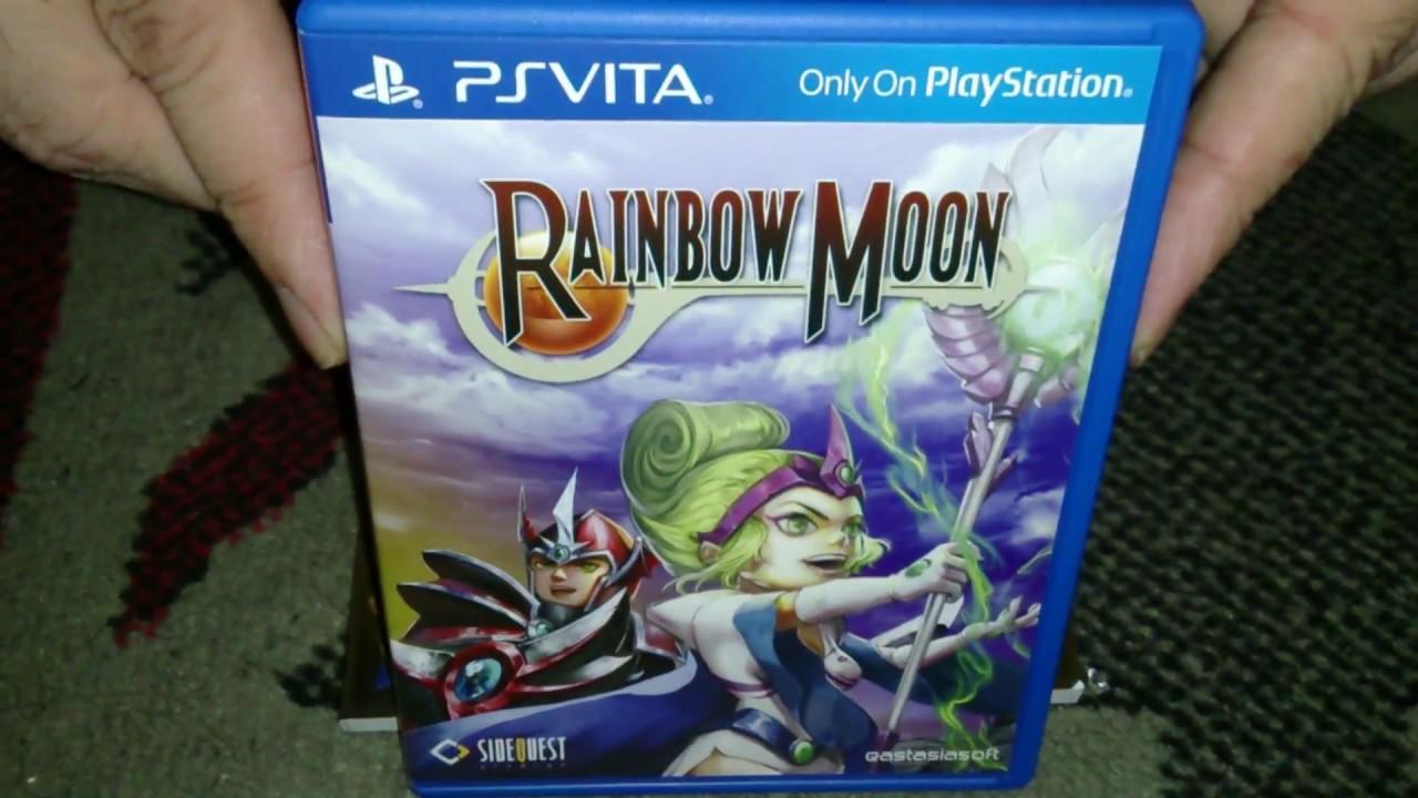 Nostalgamer Unboxing Rainbow Moon Limited Edition On Sony Playstation Vita  PSV Region Free Part 2