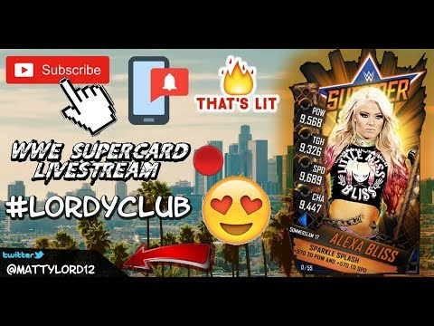 🛑WWE SUPERCARD RD GRIND LIVE STREAM COME CHAT AND PLAY!!