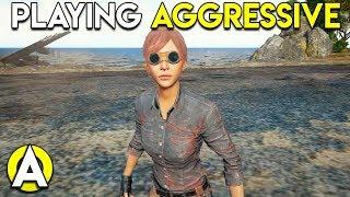 PLAYING AGGRESSIVE - PUBG Stream Highlights