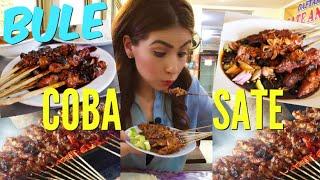 YUMMY Indonesian Satay / Bule gila makan sate