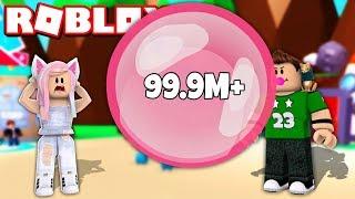 ¡¡ CHICLE DE 99,999,999 METROS CHALLENGE en ROBLOX !!