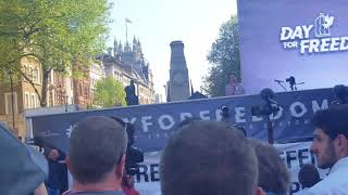Ann Marie Waters Speech At Day For Freedom, Whitehall