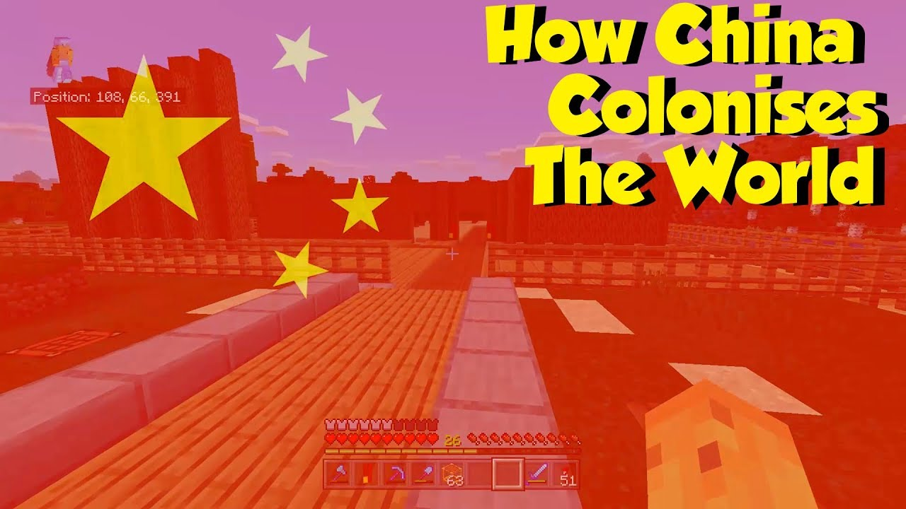 Man Talks About China's World Dominance While Playing Minecraft