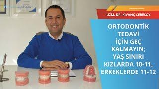 Gambar cover Ortodontik tedavi I Uzm  Dr  Kıvanç Cebesoy