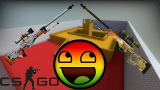 CS GO AWP LEGO 2  Смотреть всем!!!
