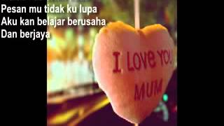 Download Ibu   by Shila Amzah lirik   YouTube