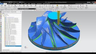 NX CAM Advanced - Turbomachinery Milling