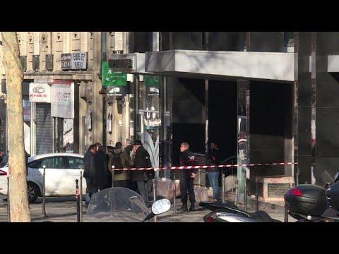Tentative de braquage à Paris: point presse de la police (2)