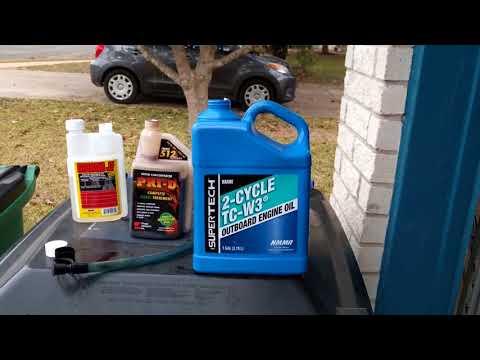 Diesel fuel additives - My custom brew