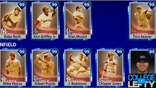 MOONSHOT EVENT!!! WITH 7 IMMORTALS!!! GRIND FOR IMMORTAL MUSIAL MLB THE SHOW 18 DIAMOND DYNASTY!!