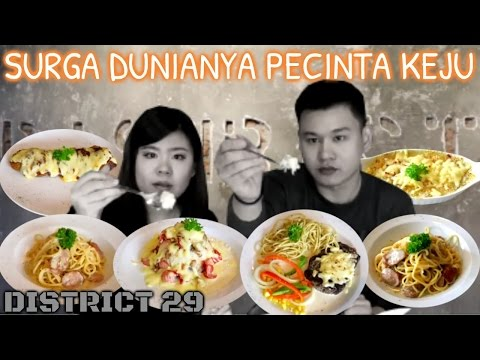 "food review ""DISTRICT 29"" pecinta keju wajib coba!!"