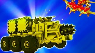 TerraTech #6 Ігровий про бойові машинки як і про конструктор лего танки і літаки