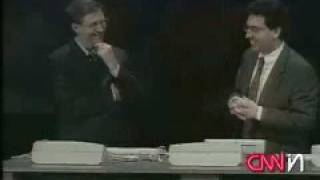 Bill Gates Failure Windows 98 Crashes on Live TV
