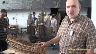 Модели кораблей из дерева: судомоделирование. Ship model(Модели кораблей из дерева. Видеорепортаж о судомоделировании с