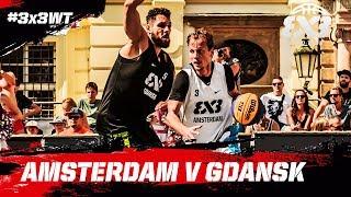 Amsterdam v Gdansk | Full Game | FIBA 3x3 World Tour 2018 - Prague Masters 2018