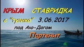Ставрида с лодки в Партените 3.06.2017 (пикша, окунь, барабулька, дракон)