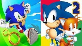 Sonic Dash vs Sonic the Hedgehog 2