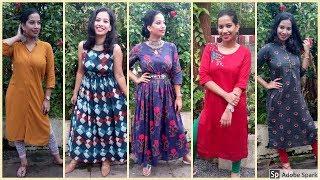 My Kurti Haul + Lookbook I എങ്ങനെ Myntra യിൽ ഓർഡർ ചെയ്യാംI Myntra I Kuppayam I Blush with ASH