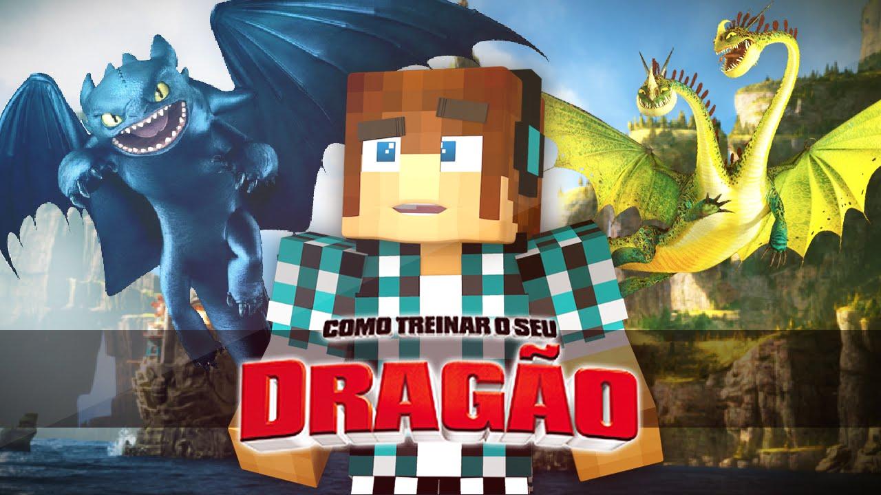 Minecraft Mod: Como Treinar Seu Dragão Mod No Minecraft