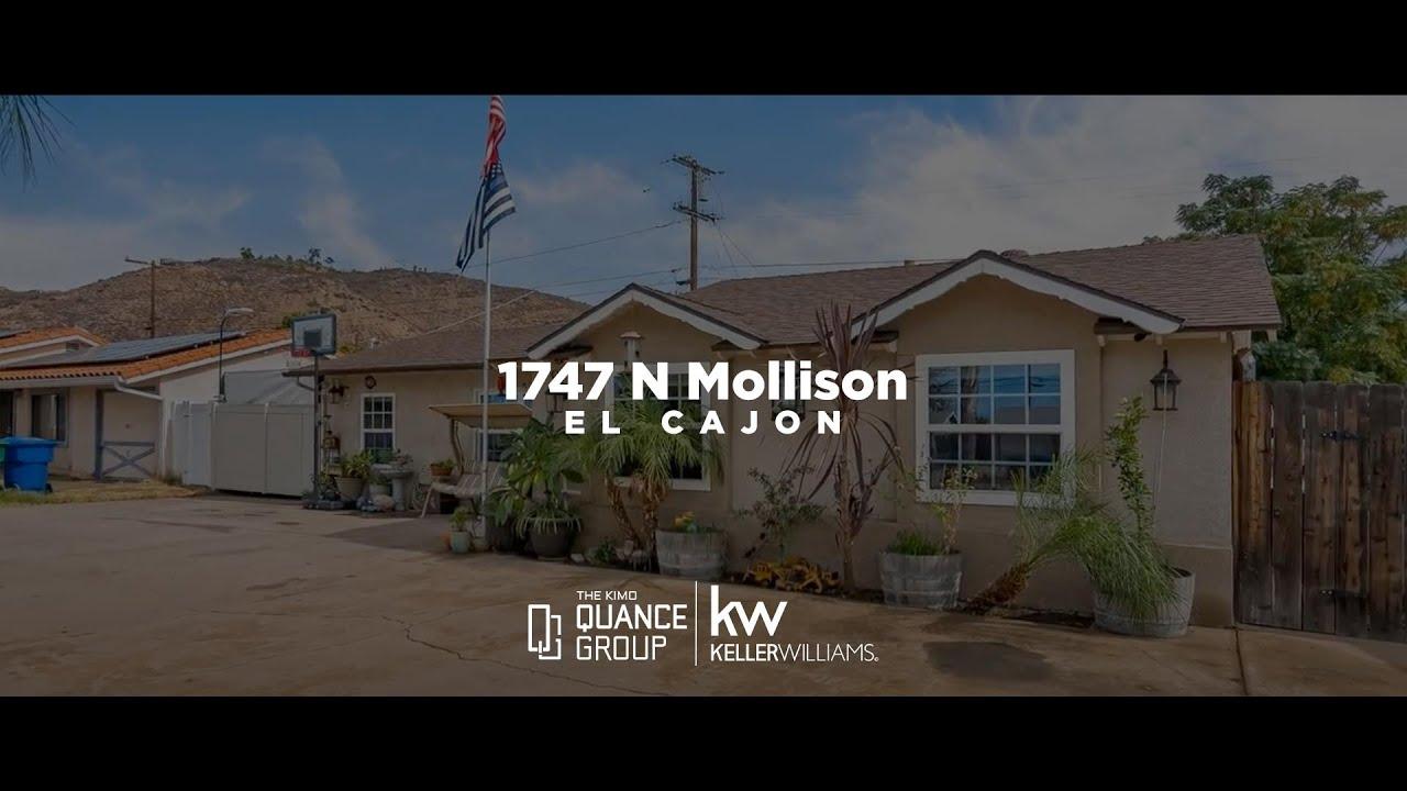 1747 N Mollison, El Cajon CA 92021, USA