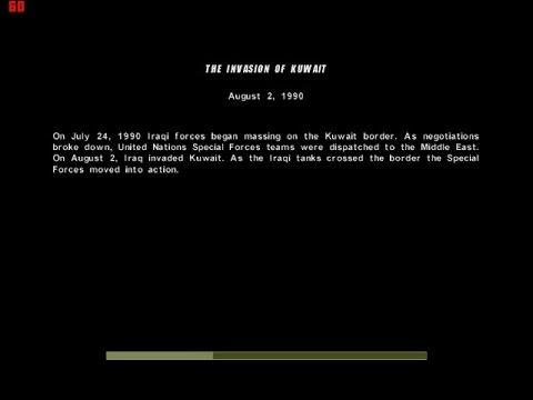 Conflict: Desert storm - Gameplay Walkthrough - Mission 1 - The Invasion of Kuwait