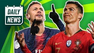 PSG: Neymar verlängert schon? Griezmann dementiert Transfer-Gerüchte! HSV will Alex Meier!
