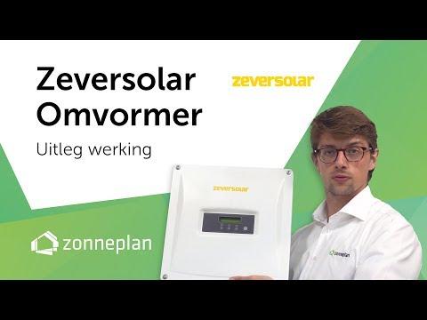 zeversolar omvormer voor zonnepanelen uitleg werking