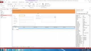 krijimi i nje pyetsori dhe nje formulari ne access pjesa 2